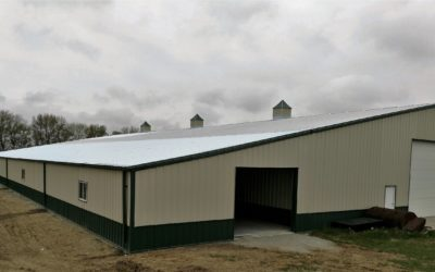 Sentinel Storage Building with Cupolas – Pender, NE