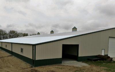 Sentinel Storage Building with Cupolas – Pender, NE